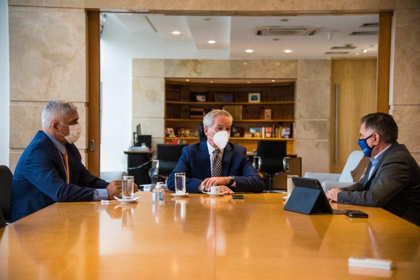 Una reunión junto al canciller con eje en los gobiernos locales y las PyMEs