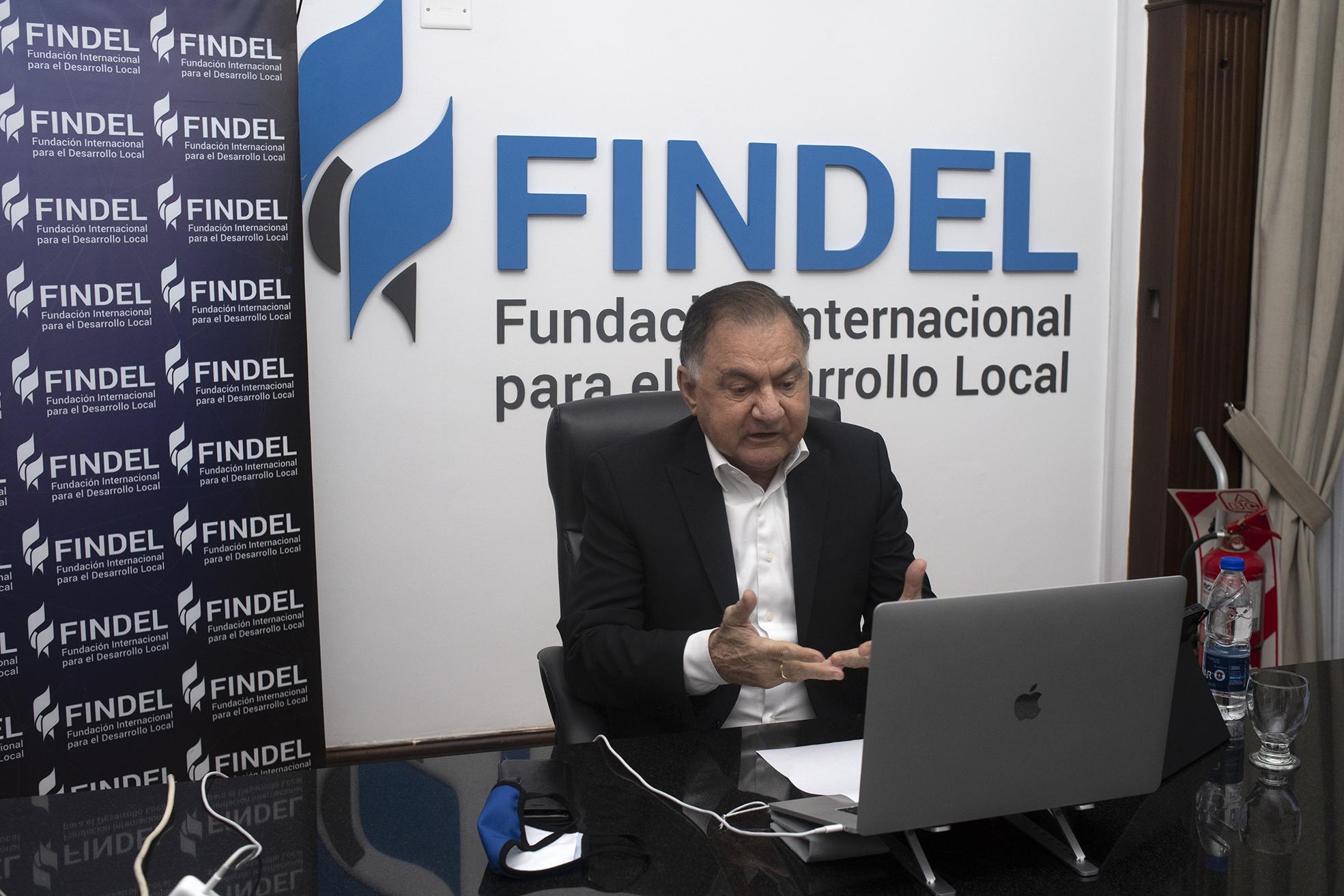 Buenos Aires 11 de mayo 2021 Julio Pereyra en seminario virtual Politica sociales para la reconstruccion argentina en FINDEL foto Rolando Andrade Stracuzzi ley 11723